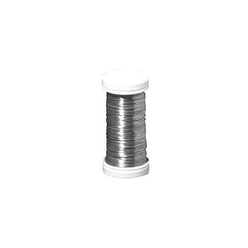 Rayher Bobine de fil de fer 0 35 mm 100 m