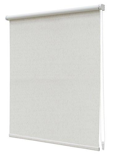Estor Enrollable Translúcido Regular N.20 120x190cm Blanco Mate Crudo