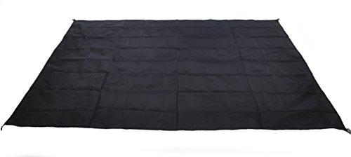 Wasserdicht Camping Plane für Picknicks, Zelt Fußabdruck, und Sonnenschutz, Black-210x150cm
