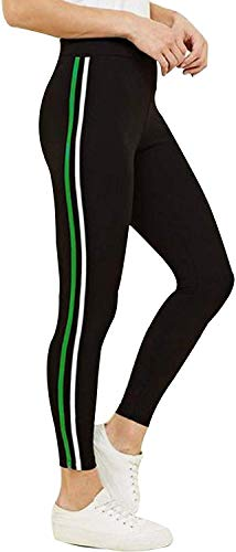 FITG18 Women's Printed Denim Tights Jeggings (Free Size)