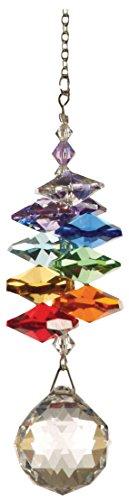 Terra Zen CR04 cristallo Cascade Arc-en-Ciel 12 centimetri cellulare trasparente