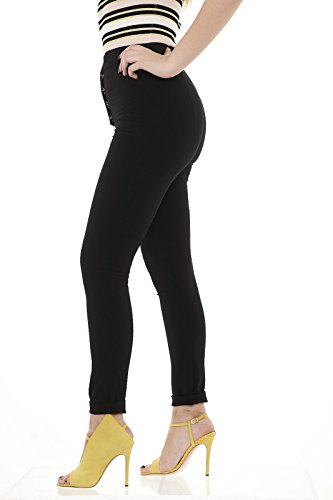 Patrizia Pepe 8P0151 AN99 pantaloni donna skinny Nero