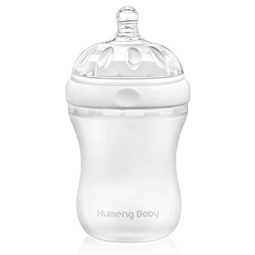 Bright love sans BPA bébé spécial col Large Petite Bouteille 230ml,White