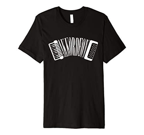 Akkordeon T-Shirt Musiker Geschenkidee Ziehharmonika