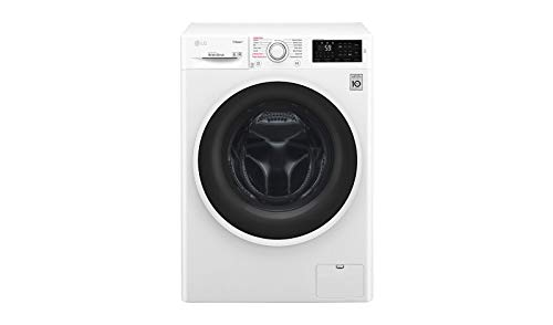 LG F4J6JY0W washing machine Freestanding Front-load White 10 kg 1400 RPM A+++-40% - Washing Machines (Freestanding, Front-load, White, Rotary, 67 L, 10 kg)