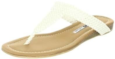 Manas  positano Flip-Flops Womens  Beige Elfenbein (PANNA) Size: 3 (36 EU)