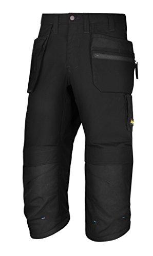 snickers-61030404048-litework-375-pantacourt-avec-poches-holster-taille-48-noir