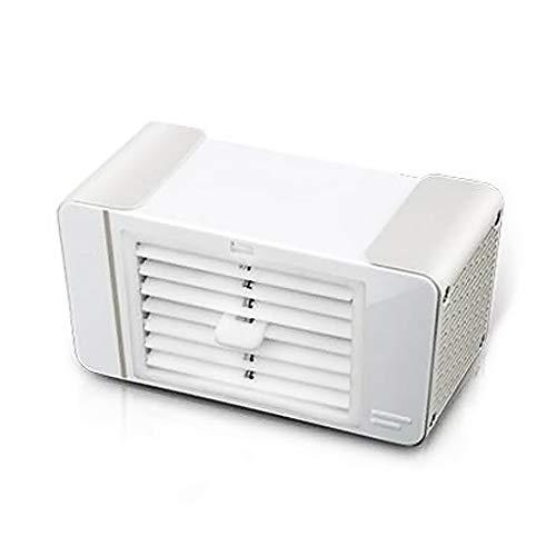 AIR-Ice USB-Mini-LuftküHler Desktop-Auto-KlimaanlagenlüFter, 2 Eiskristalle, Mit USB-Licht FüR Beleuchtung, Geeignet FüR Zuhause, BüRo Und Schlafsaal 185x100x88mm
