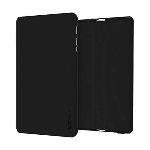 Incipio Faraday Folio Case für Microsoft Surface Go - Microsoft zertifizierte Schutzhülle [Kickstand Kompatibel I Gummibandverschluss] - schwarz MRSF-124-BLK