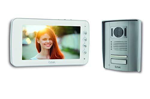 EXTEL - Visiophone 2 Fils ENTRY 7 - Ouverture portail et portillon 720305
