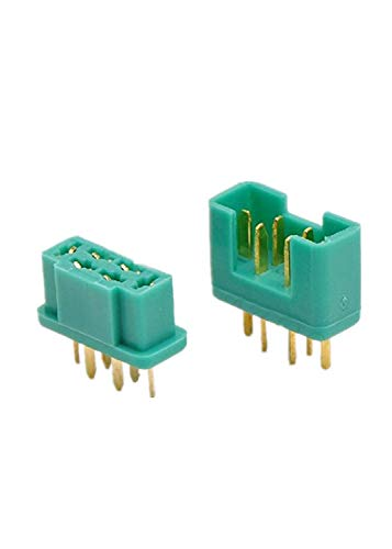 VIDOO 6 Pin Mpx Plug Real Gold Plating Terminal Male & Female 5 Pair -