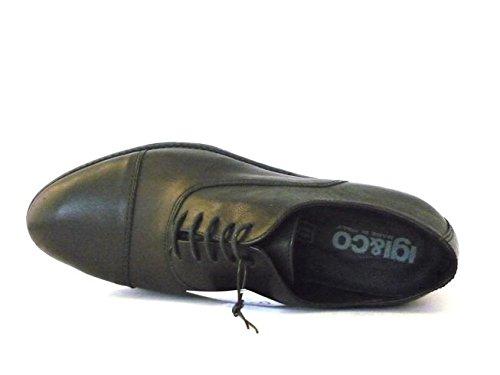 Igi & Co Uomo Chaussure Formelle Dentelle Francais 67050 Noir