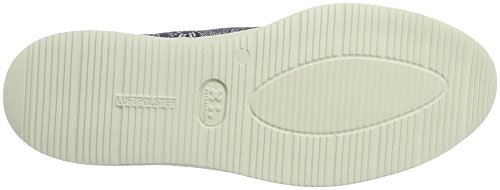 Ara Lady Courtyard Sneaker Blu (bianco, Argento / Jeans)