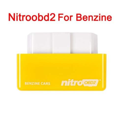 FIOLTY Heißer OBD2 Chip Tuning Box NitroOBD2 Für Benzine/Auto-Plug and Drive Nitro OBD2 Zunehmende Macht des Motors: Nitro OBD2