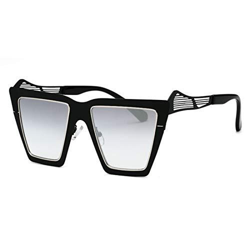 Yiph-Sunglass Sonnenbrillen Mode Mode Sonnenbrillen für Frauen und Männer UV-Fahren im Freien Urlaub Sonnenbrillen Sonnenbrillen (Farbe : Black Frame Mercury Film)