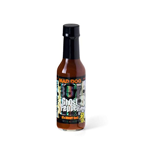 Mad Dog 357 Ghost Pepper Hot Sauce, 148ml