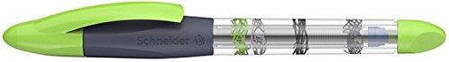 Schneider Schreibgeräte Patronenroller Base Ball, M, königsblau, transp. Schaft mit grau-grünem...