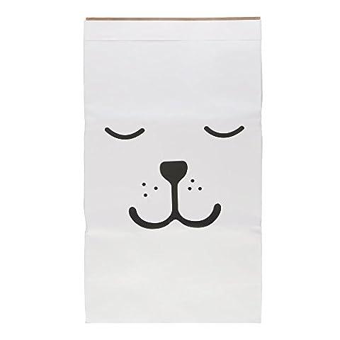 HuaYang mignon en papier Kraft Jouets sac de rangement pour