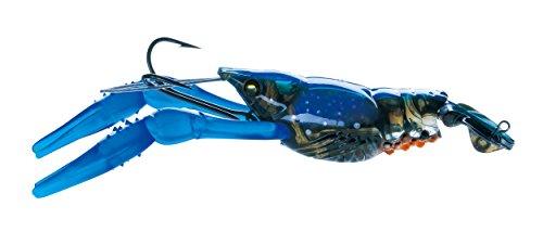 Yo-Zuri 3DB Écrevisse lent Naufrage Leurre, R1109 PBLB, Prism Blue Black, 7.62 cm
