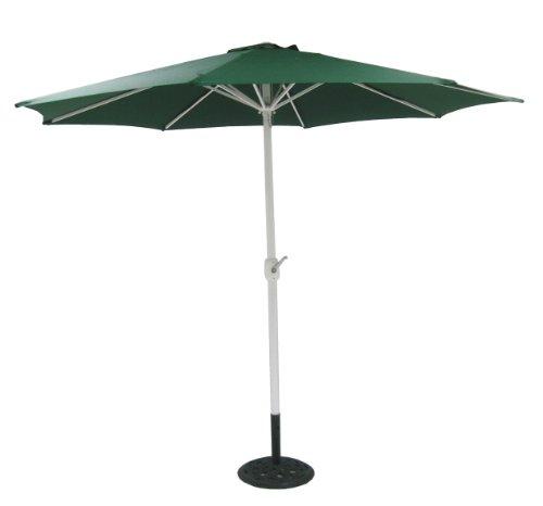 Ombrellone ombrello bar giardino mare piscina alluminio verde ø 3 m
