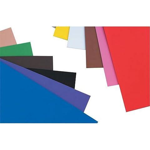 Creation Station Craft Schaumstoff Blatt, A4, 10Stück, verschiedene Farben