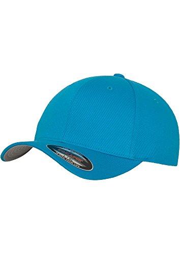 Flexfit Erwachsene Mütze Wooly Combed youth,ocean blau