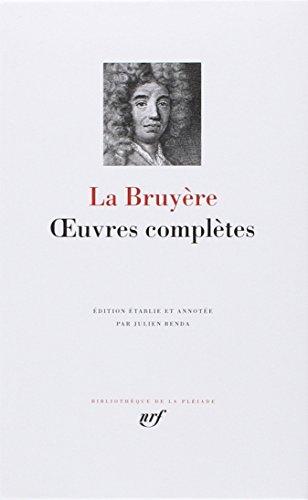 Oeuvres completes (Bibliothèque de la Pléiade)