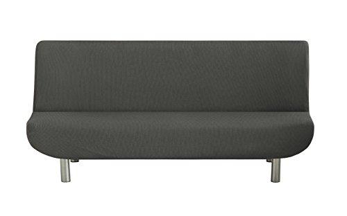 Eysa Ulises - Funda de clic-clac elástica para sofá, color gris