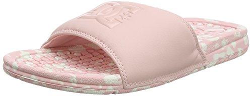 DC Shoes Bolsa LE, Chanclas para Mujer, Rosa (Rosewater Row), 39 EU