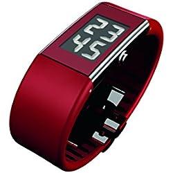 Rosendahl Watch II 43128 - Reloj de mujer de cuarzo, correa de goma color rojo