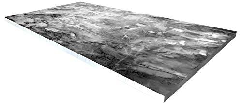 Cuadros Lifestyle Design-Tisch/Schreibtisch/Hochwertige Tischplatte/Esstisch/Arbeitstisch/Bürotisch/Metalloptik/DIY/in Zwei Größen erhältlich/ab 149 Euro/Über 50%
