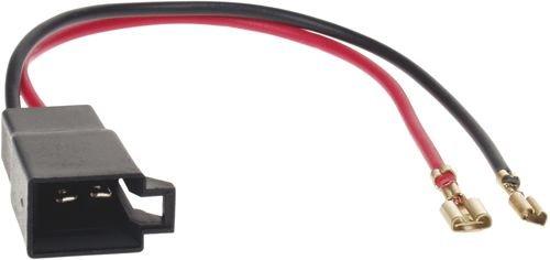 Baseline - Juego de adaptadores para altavoces DIN para Audi, Opel, Renault, Seat, Volkswagen, etc.