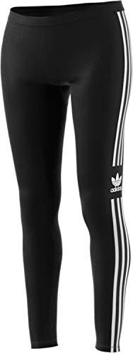 adidas Trefoil Tight Pantalons de Compression Femme, Noir, FR : S (Taille Fabricant : 38)