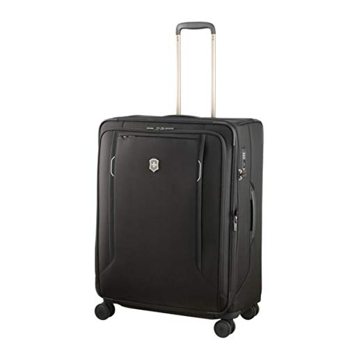 Victorinox Werks Traveler 6.0, Large Softside Case, Black Schwarz-traveler-case