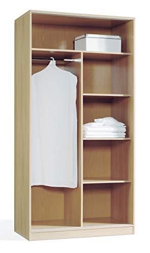 Miroytengo Armario vestidor Abierto Color Cerezo Estructura