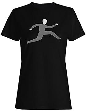 Arte corriente del funcionamiento del funcionamiento del hombre camiseta de las mujeres d755f