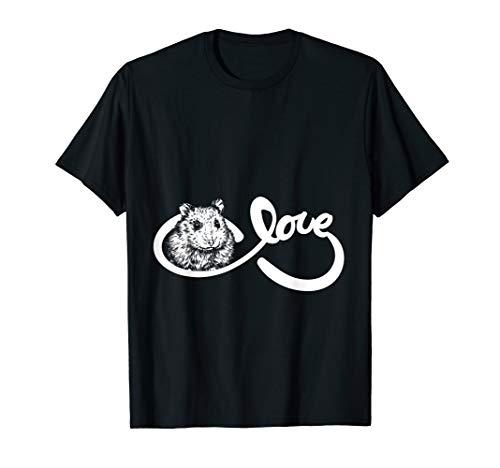 Tierliebhaber Geschenkidee Haustier Besitzer Hamster T-Shirt (Hamster T-shirt)