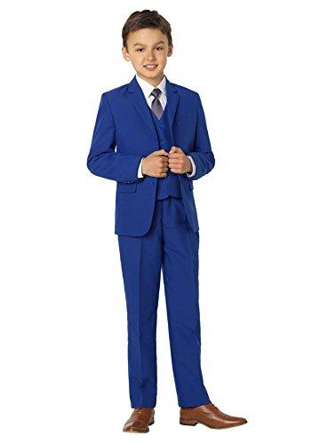 Shiny Penny Jungen Anzug blau blau Gr. 8-9 Jahre, blau -