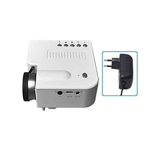 Gwendoll UC28B + Proyector hogar Mini proyector portátil