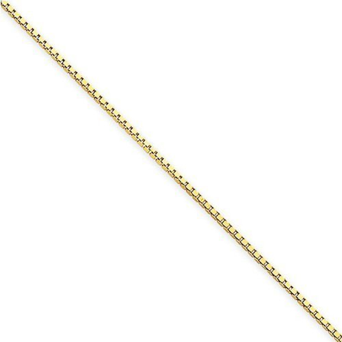 10k-yellow-gold-solid-box-chain-22-in-long-05mm-wide-by-icedtime