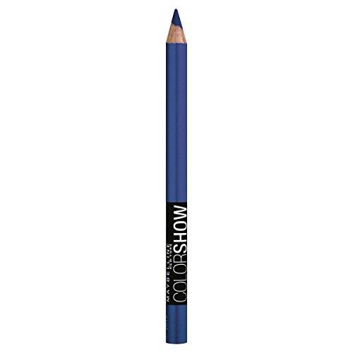 GEMEY ColorShow Maybelline Lápiz de ojos 220 azul de la belleza