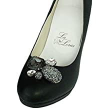 La Loria - Donna Clip Decorative Per Scarpe