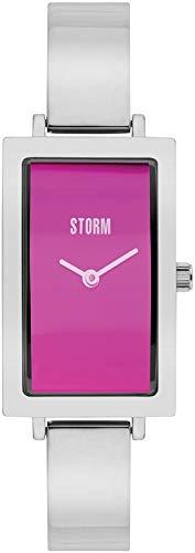 Storm London Aisha Lazer Purple 47394/P Reloj de Pulsera para Mujeres