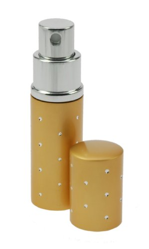 Fantasia 46162 Vaporisateur de poche taille 9 cm capacité 10 ml (Argent/or)