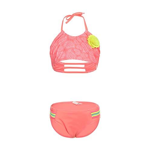 DAYU Mädchen Bikini Sets Schwimmen Kostüme Zwei Stücke Tankini Sommer Bikini Badebekleidung Kinder Beachwear -12-14 (Seepferdchen Kostüm Baby)