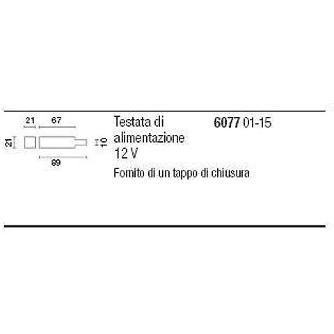 3.6077.015.0 - IGUZZINI ILLUMINAZIONE MINI LIMELIGHT TESTATA ALIM C/TAPPO
