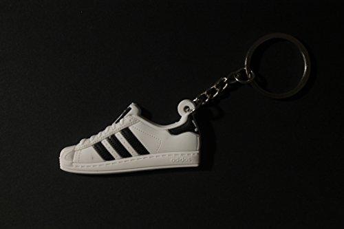 Preisvergleich Produktbild Sneaker Schlüsselanhänger Adi Superstar Schlüsselanhänger fashion für Sneakerheads,hypebeasts und alle KeyholderSuperstar Classic| ProProCo®