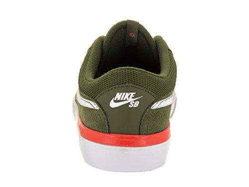 Nike Sb Koston Hypervulc, Scarpe De Skateboard Uomo Legion Vert / White-max Ora