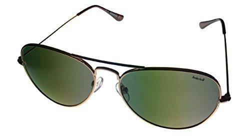 Timberland Womens TB7075 032N Classic Aviator Sunglasses, Gold