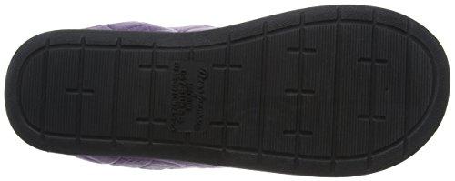 Dearfoams Clog, Chaussons Mules Femme Purple (Smokey Purple)